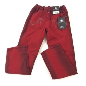 Rock & Republic Youth Skinny Red Jeans 7